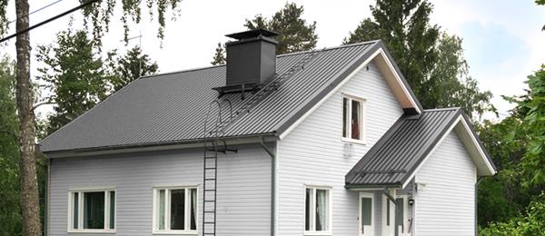Преимущества двухскатных крыш